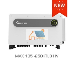 INVERTER GROWATT MAX 185-250KTL3 HV